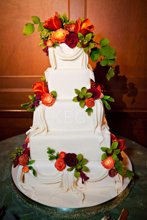 Kelly's Wedding Cake