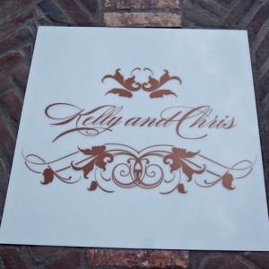 Monogram Grate Cover
