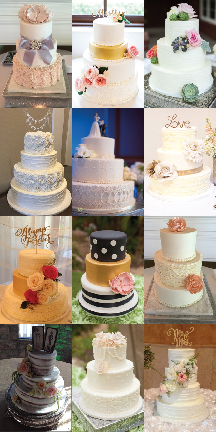 Wedding Cake Trends of 2015