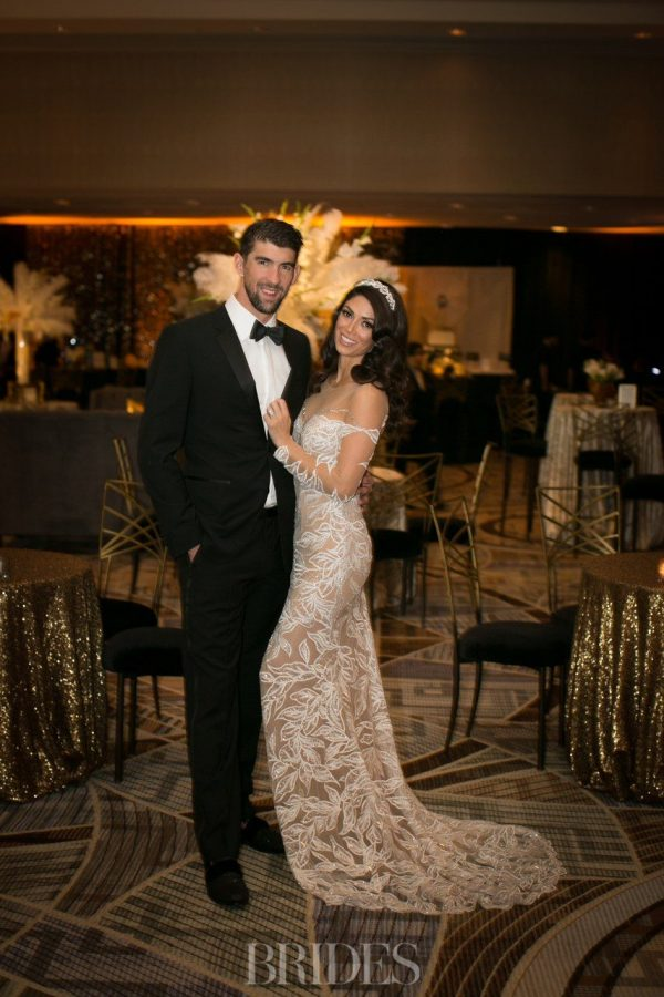 Nicole & Michael Phelps New Year's Eve Wedding Reception