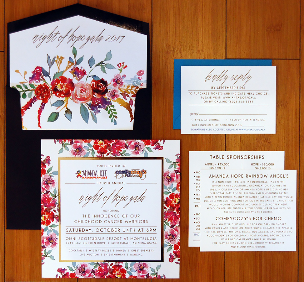 CHARITY_FUNDRAISER_FLORAL_LAYERED_ INVITE SUITE