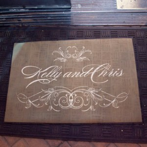 Monogram Door Mat