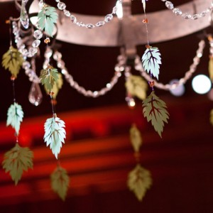 Ceiling Leaf Decorations