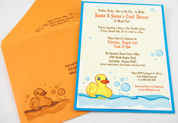 Rubby Ducky Coed Shower