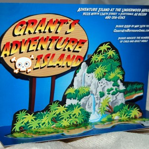 Adventure Land Popup Card