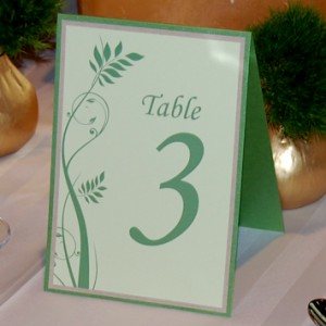 Greenery Wedding Reception Table Setting