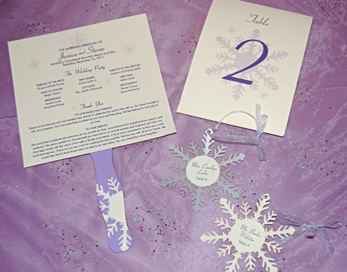 Wedding Reception Winter Wonderland